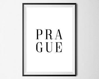 Prague Wall Print - Wall Art, Home Decor, Home Print, Places Print, City Print, Prague Print