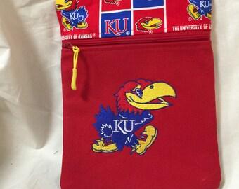 University of Kansas Crossbody Bag