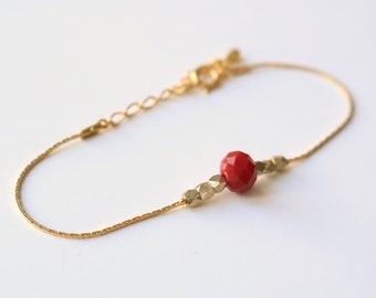 Red bracelet Tan Tao