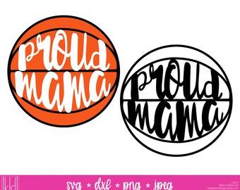 2 Proud Mama svgs - Basketball Mom svg - Basketball Mama svg - Basketball svg - Basketball Mom Shirt Design
