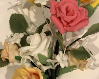 Sugar Flower Rose Bouquet