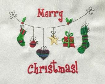 Christmas Apron, Merry Christmas, Kitchen Apron, Holiday Decor, Women's Aprons, Christmas Gift, Christmas Decor, Christmas Stockings, Stars