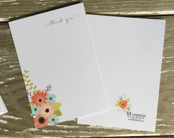 Personalized Notecards - Set of 8 - Olivia