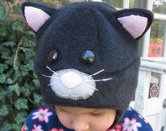Black Cat Hat for Children
