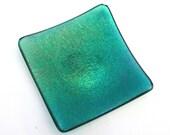 Green translucent iridesc...