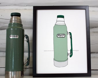 Stanley Thermos print