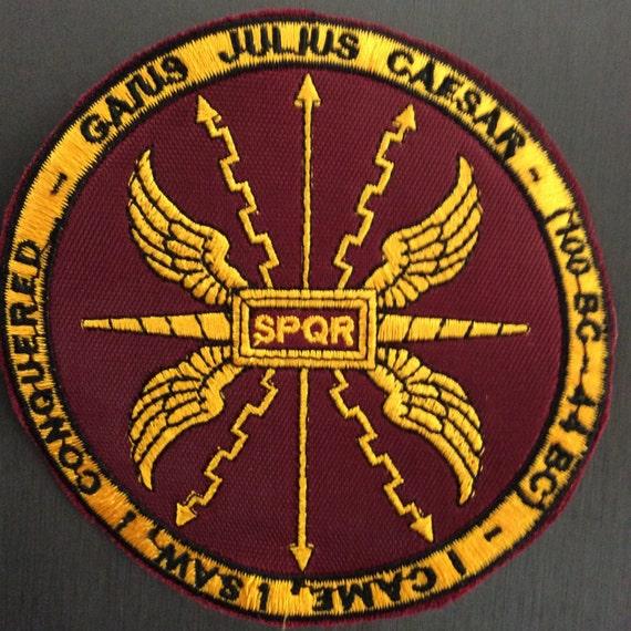 Patch Gaius Julius Caesar Giulio Cesare Spqr Rome Roma