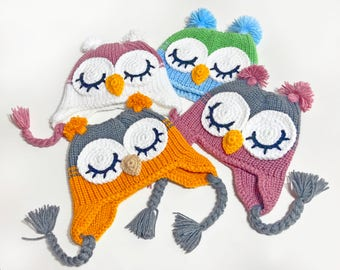 Gender Neutral Baby Gift Neutral Baby Clothes Owl Hats Neutral baby hat owl hats for baby crochet owl hat owl hat crochet gender neutral
