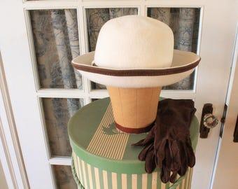 Vintage 1960's Anita Pinault Hat