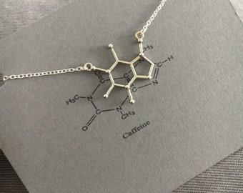 Caffeine Bracelet, Molecule Bracelet, Chemistry Bracelet, Science Jewellery, Science Jewelry