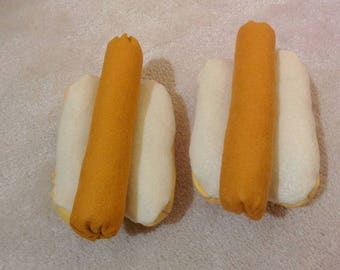 Hot Dog Kit - Hot Dog - Hot Dog Bun - Imaginative Play - Pretend Play