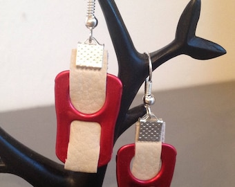 Christmas Special: Earrings Red