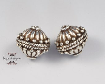 Bali Sterling Silver Bead (2)