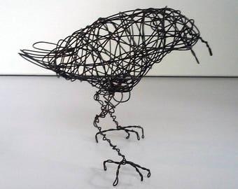 Original Handmade Wire Bird Sculpture - SYDNEY