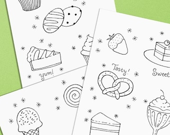Desserts and Goodies Embroidery Pattern Goody Goody