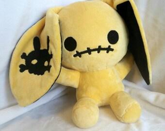 Scare Bunny - Yellow - Minky