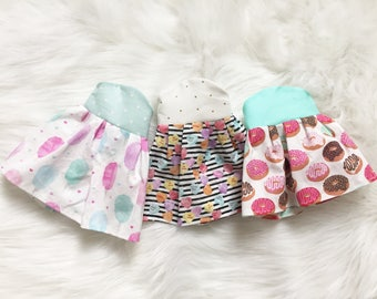 Sweet Treats Boutique Dress. You Pick Style and Design Your Own Plushie!