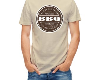 T-shirt Barbecue Barbeque Bbq Low And Slow Sign funny sign 24219