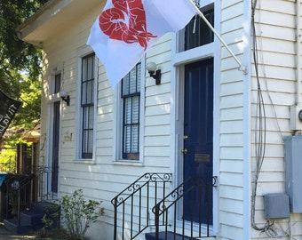 Crawfish Heart© Flag!