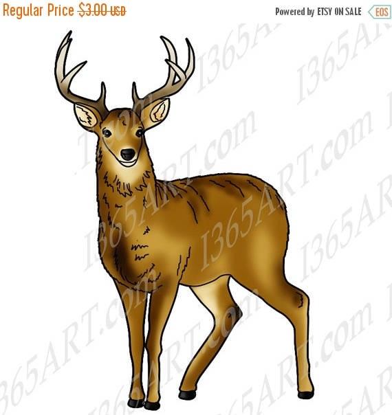 50 off deer clipart deer clip art wildlife clipart deer graphic rh etsystudio com free deer hunting clipart images free deer hunting clipart images