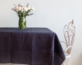 Tablecloth - Linen dinning tablecloth - Natural tablecloth - Table top - Holiday linens - Housewarming gift