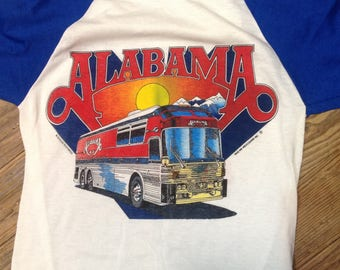 Alabama Band DeadStock 1986 Tour jersey sz 30 in Mint Cond.