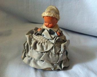 Vintage 50s Teepuppe Tea Time Doll Doll
