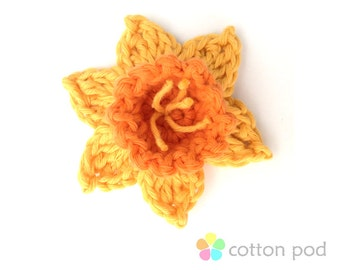CROCHET PATTERN - Daffodil by Cotton Pod - Instant PDF Download