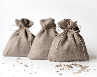 Wedding party favor bags set of 50, Rustic favor bags, linen gift bags, Wedding favor candy bags, wedding treat bags