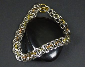 Helm Chainmaille Bracelet