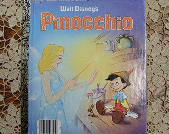 Little Golden Book Walt Disneys Pinocchio