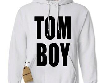 Hoodie TOMBOY Hooded Jacket Sweatshirt Hoodie #1195