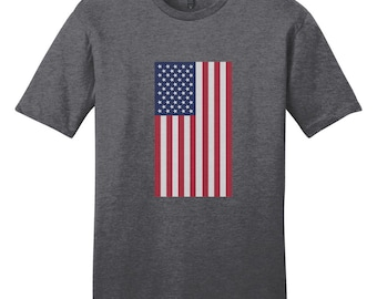 American Flag - Patriotic 4th Of July USA T-Shirt