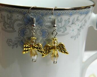 Angel Bead Earrings