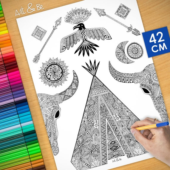 COLORING Poster - TIPEE -...