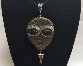 Alien Pendant Necklace