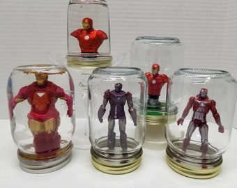 Iron Man Snowglobes