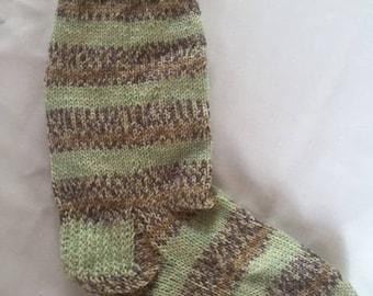 Handknit Merino Wool Socks (1)