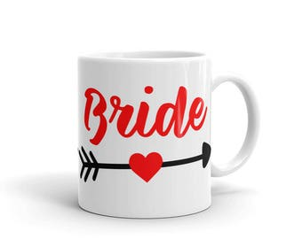 Bride Red Mug made in the USA