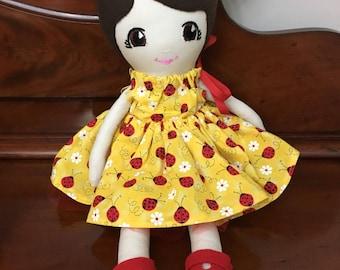 Fabric Doll, Soft Doll,