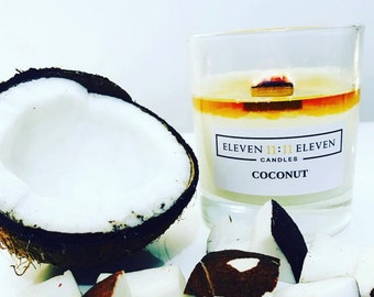 Coconut Soy Wax Candle / over 50 fragrances available