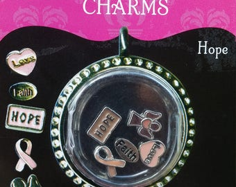 Breast Cancer Hope Charms