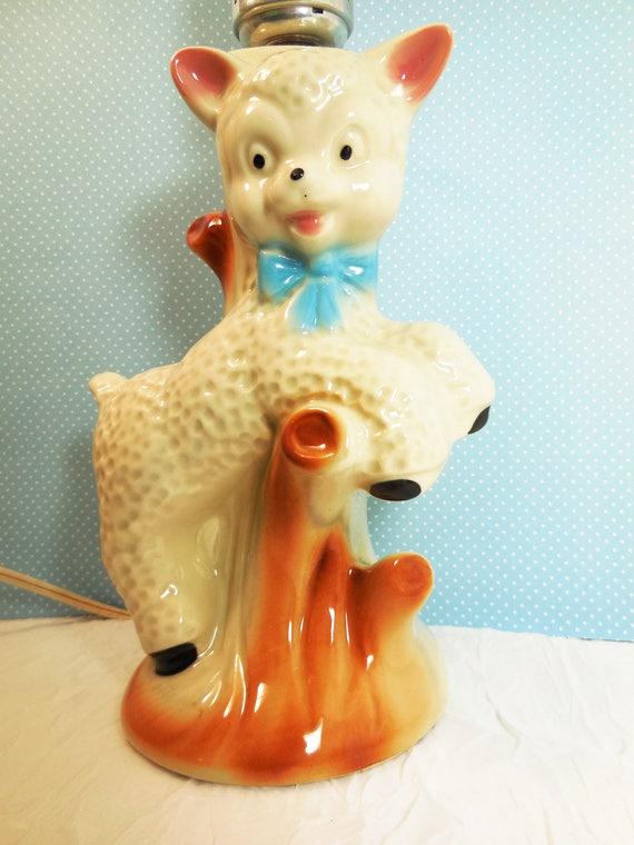 Baby Lamb Lamp