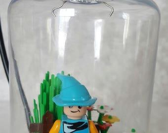Gnome Lego Ornament