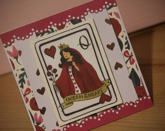 Valentine's Day card - Queen of my Heart