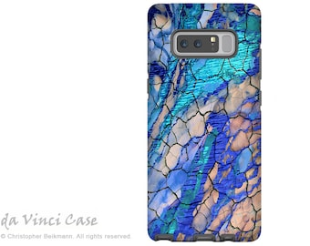 Blue Galaxy Note 8 Case - Abstract Art Case for Samsung Galaxy Note 8 with Artwork - Desert Memories - Premium Dual Layer Case