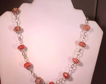 Tangerine Necklace