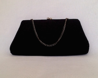 Vintage Peau de Soie Evening Bag