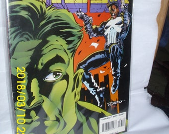 """Marvel Comics The Incredible Hulk #433 1995 Sept. """"The Punisher"""" Punishment Fit The Crime"""""""