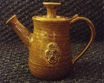 Whimsical Folk Art Teapot